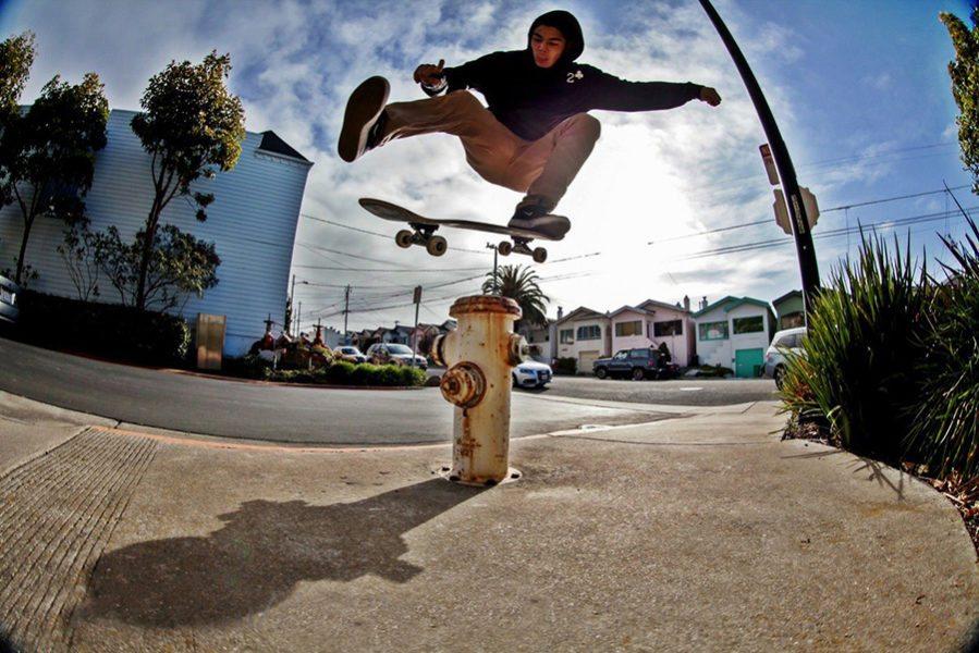 Truco de skate Ollie North